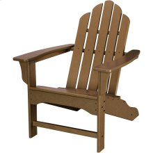 All-Weather Contoured Adirondack Chair - Teak