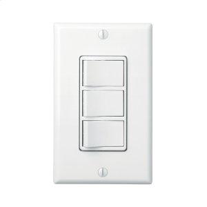 BroanBroan-NuTone(R) 3-Switch Control w/ 4-Function Control, Heater/Fan/Light, Night-Light