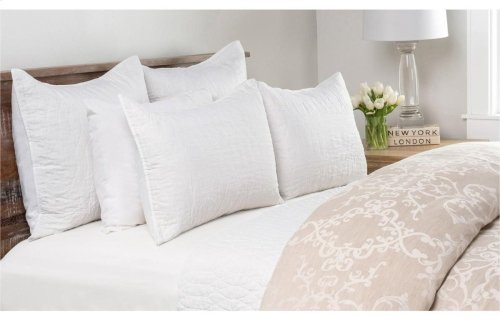 Cressida White 3Pc Queen Set