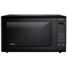 REFURBISHED 2.2 Cu. Ft. Countertop Microwave Oven with Inverter Technology - Black - NN-SN942B-RF