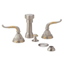 RIBBON & REED Four Hole Bidet Set K4137 - Polished Brass