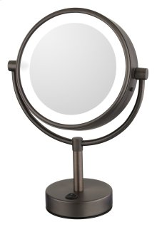 Neomodern LED Lighted Freestanding Mirror