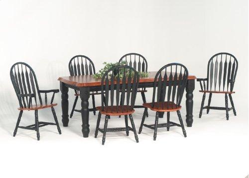 Contour Back Windsor Arm Chair