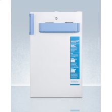 Built-in Undercounter Medical/scientific All-freezer With Front Control Panel Equipped With A Digital Thermostat and Nist Calibrated Thermometer/alarm