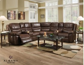 2400 Complete 7pc. Dual Console Sectional