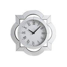 Lilac Wall Clock