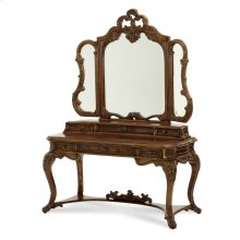 Vanity Desk Drawer Unit & Mirror