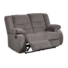 98606 Tulen Gray Reclining Loveseat Only
