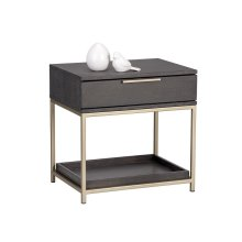 Rebel Nightstand - Grey