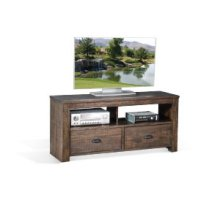 "Homestead 54"" TV Console w/ 2 Drawers"