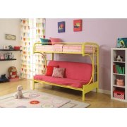 YELLOW T/F FUTON BUNKBED Product Image
