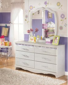 Zarollina - Silver 2 Piece Bedroom Set