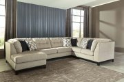 Beckendorf - Chalk 3 Piece Sectional Product Image