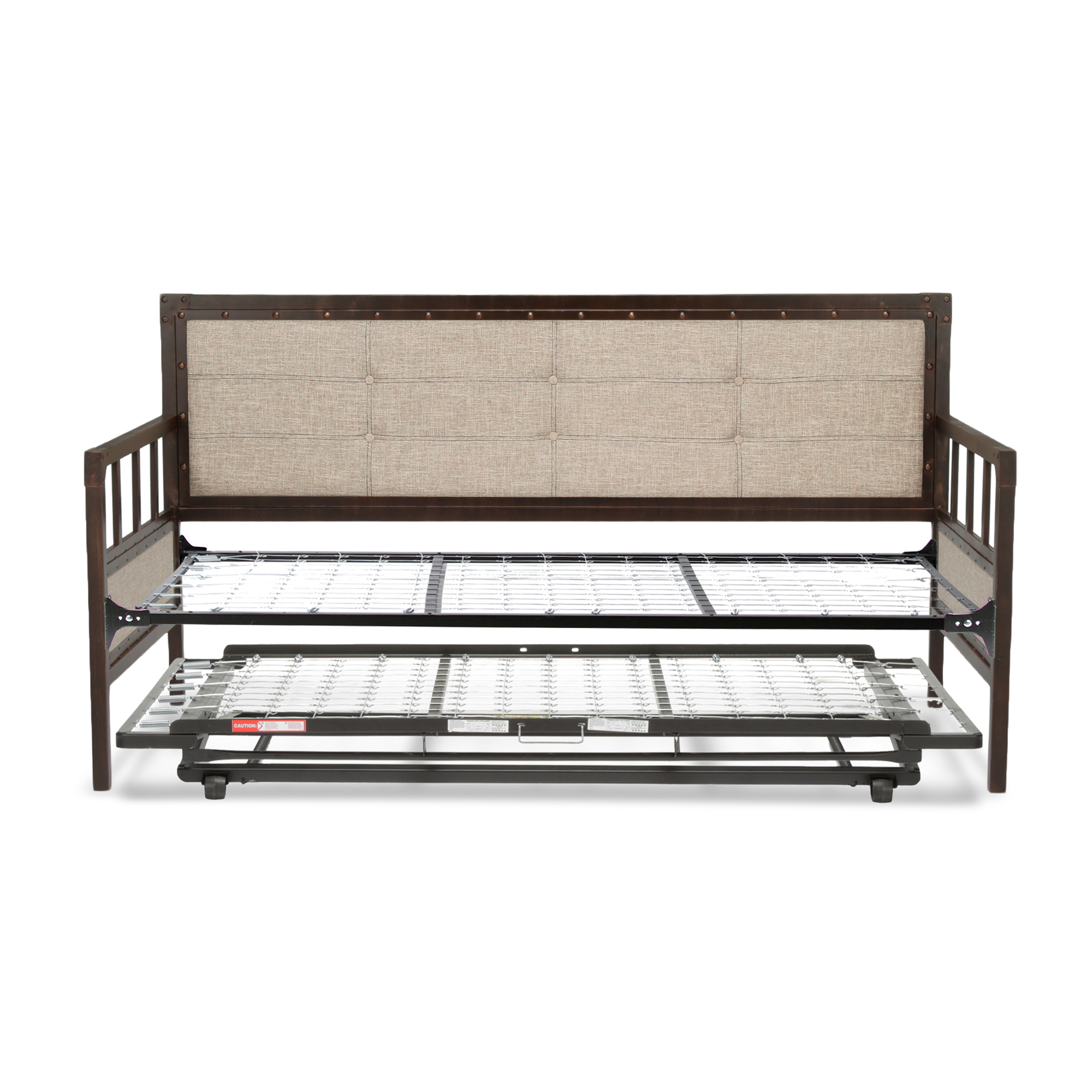 B50069fashion Bed Group Gotham Complete Metal Daybed With Link