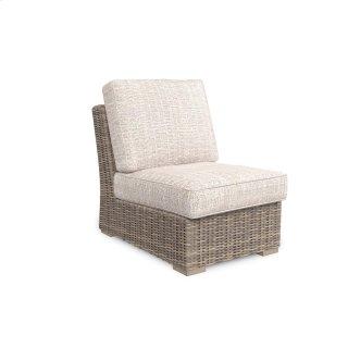 Santa Rosa Armless Chair w/Cushion