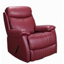 REC-220 Brazil Wine Leather Recliner