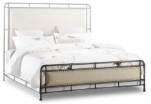Bedroom Slumbr Metal Upholstered Footboard 6/6