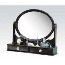 Espresso Mirror W/jewelry Drw