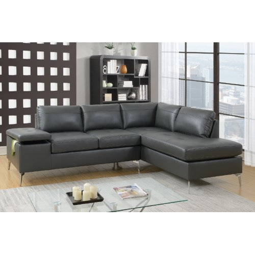 F6520 in by Poundex in Orlando, FL - 2-pcs Sectional Sofa