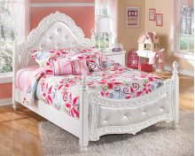 Exquisite - White 2 Piece Bed Set (Full)
