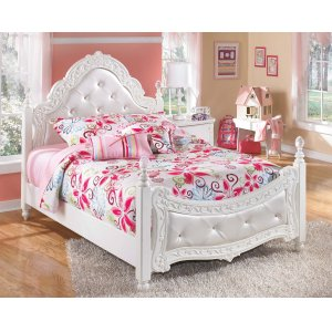 Ashley Furniture Exquisite - White 2 Piece Bed Set (Full)