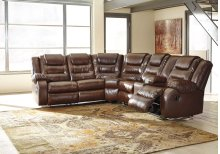 Walgast - Espresso 2 Piece Sectional
