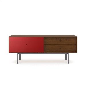 Bdi Furniture5229 Cabinet in Toasted Walnut Cayenne
