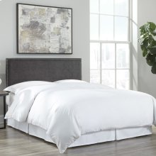 SleepSense White Bed Skirt, Queen