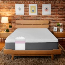 "Soho 10"" Queen Memory Foam Mattress"
