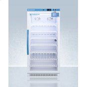 Performance Series Pharma-vac 8 CU.FT. Upright Glass Door All-refrigerator for Vaccine Storage With Factory-installed Data Logger