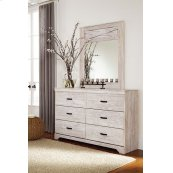 Briartown - Whitewash 2 Piece Bedroom Set