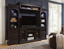 Willenburg - Dark Brown 4 Piece Entertainment Set