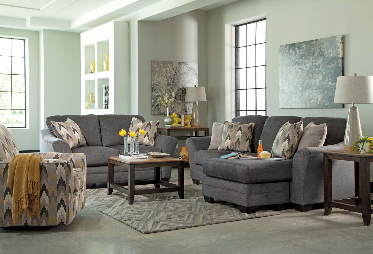 8850218 Signature Design By Ashley Benchcraft Sofa Chaise
