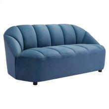 Paramount Sofa Dark Blue Velvet