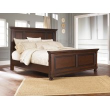 Panel Non-Storage King Bed