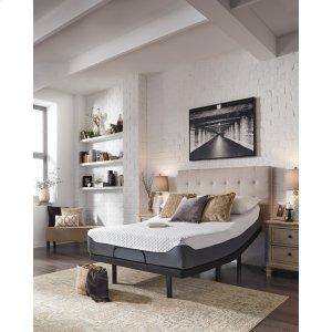 Ashley FurnitureASHLEY SLEEP12 Inch Chime Elite - White/Blue 2 Piece Mattress Set
