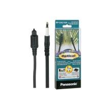 Audio Optical Cable, 3.3 ft., Square-plug to Mini-plug