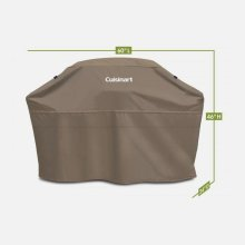 "Heavy-Duty 60"" Barbecue Grill Cover"