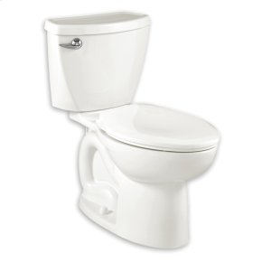 Cadet 3 Elongated Toilet  1.6 GPF  10-inch Rough-In  American Standard - White