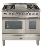 "36"" - 5 Burner, Double Oven w/ Griddle in Stainless Steel Product Image"