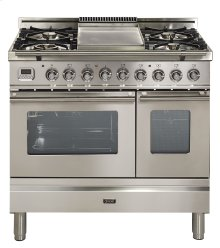 "36"" - 5 Burner, Double Oven w/ Griddle in Stainless Steel"
