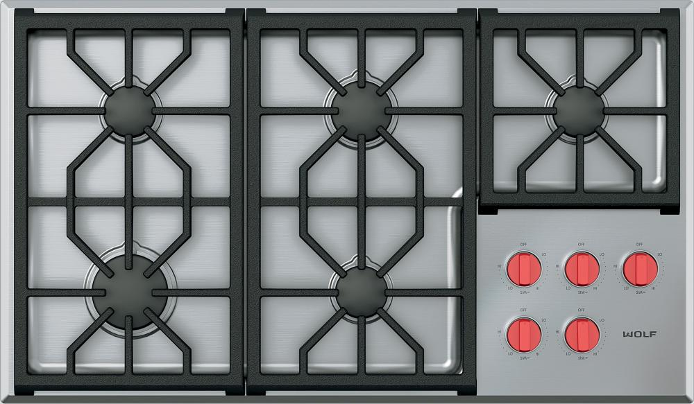 Wolf-cg365ps-gas-cooktop