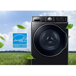 Wf56h9100av Samsung 5 6 Cu Ft Front Load Washer With