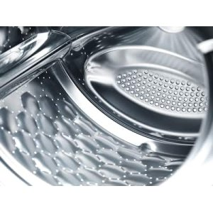 Honeycomb drum with perforated rear wall