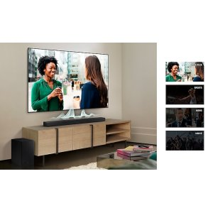 Q Soundbar & Samsung TV, in perfect harmony