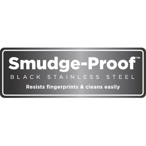 Smudge-Proof Black Stainless Steel