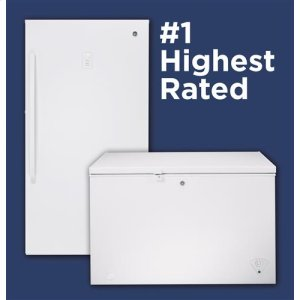 The highest rated upright and chest freezer lineup in the industry