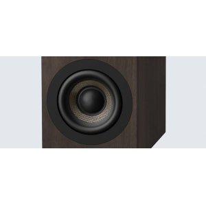62 mm highly-rigid carbon fibre cone woofers