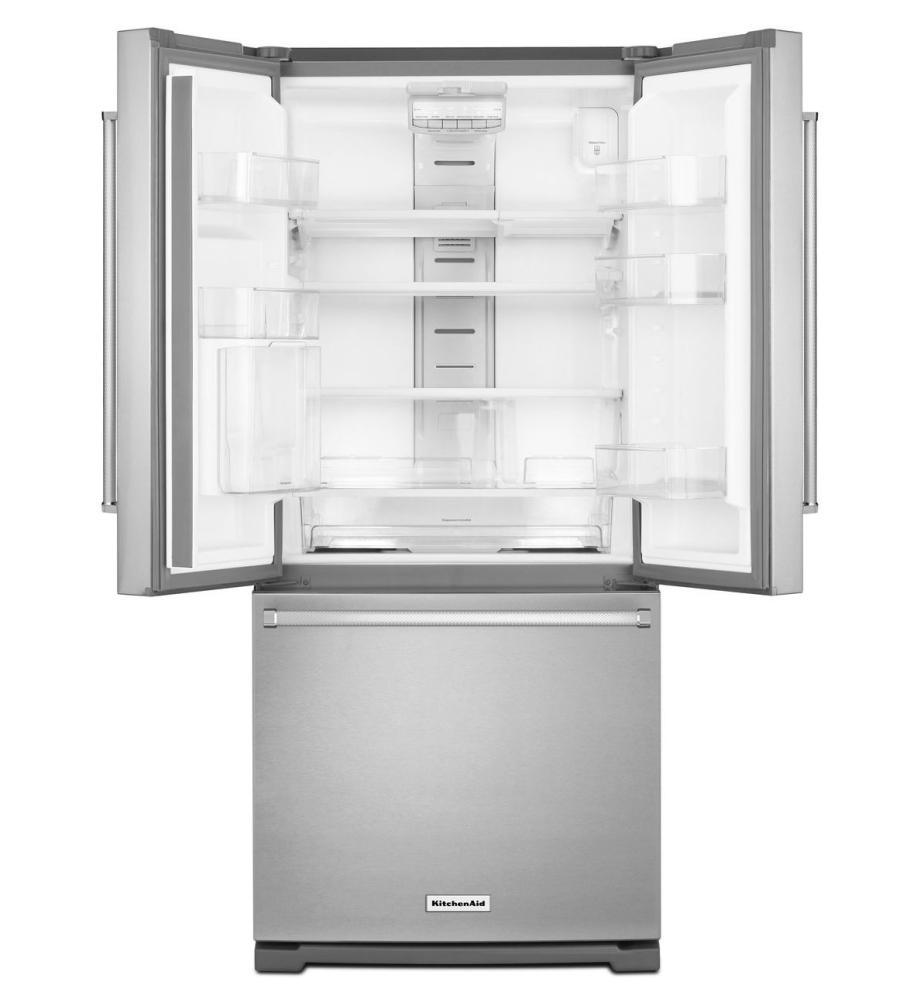See KitchenAid Refrigerators in Boston | French Doors KRFF300ESS