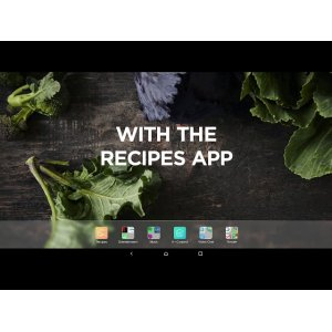 Guided cooking app